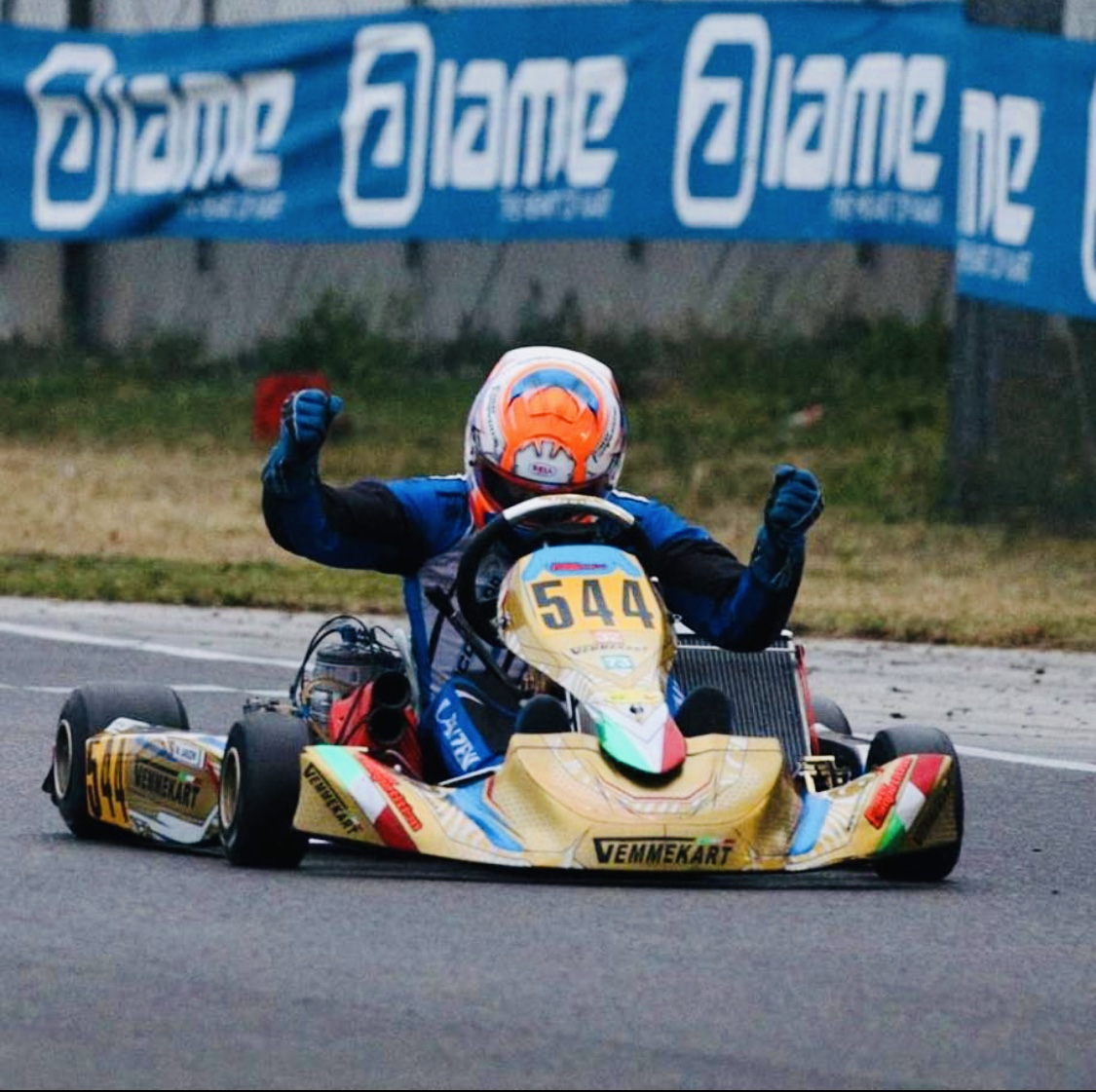 VemmeKart factory : announces the return of William Lanzeni to the KZ category.